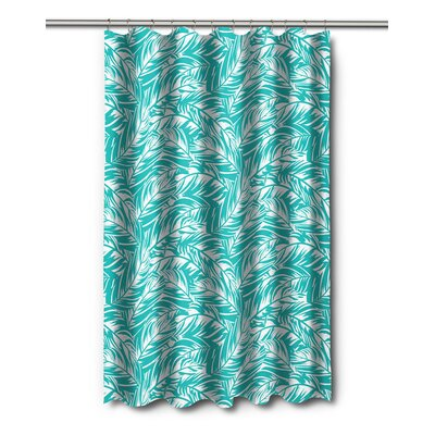 Tropical Jamaican Jungle Shower Curtain