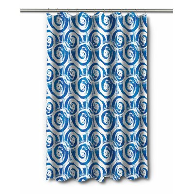 Modern Swirls Shower Curtain