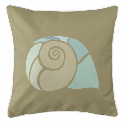 Andros Nautilus Shell Throw Pillow