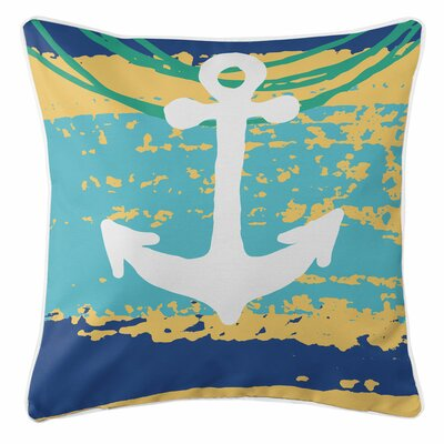 Bimini Anchor Throw Pillow