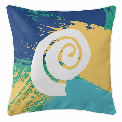 Bimini Shell Throw Pillow