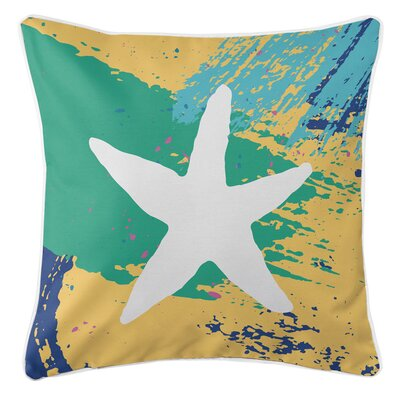 Bimini Starfish Throw Pillow