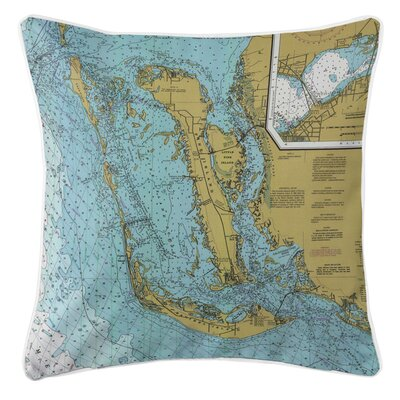 Ellisburg Sanibel Island and Pine Island, FL Throw Pillow