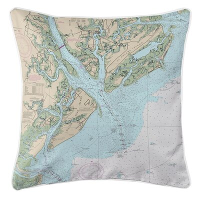 Ellisburg Hilton Head Island SC Throw Pillow