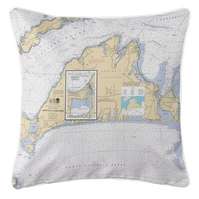 Ellisburg Marthas Vineyard MA Throw Pillow