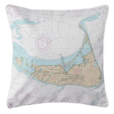 Ellisburg Nantucket MA Throw Pillow