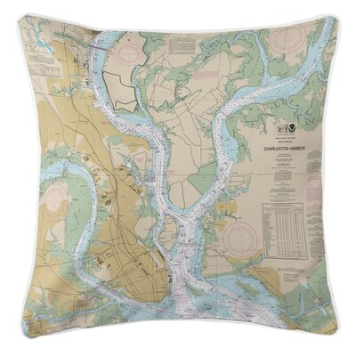 Ellisburg Charleston, SC Throw Pillow