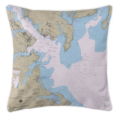 Ellisburg Annapolis Harbor, MD Throw Pillow