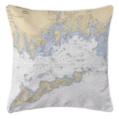 Ellisburg Fishers Island Sound. CT Throw Pillow