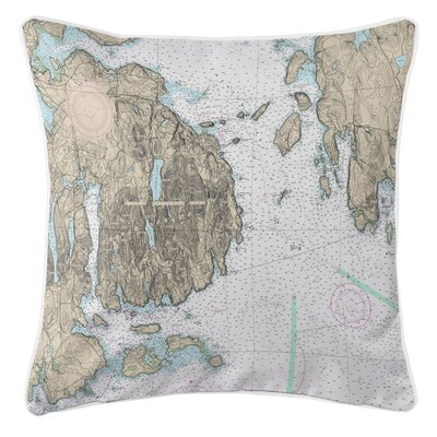 Ellisburg Frenchman Bay Mount Desert Island, ME Throw Pillow