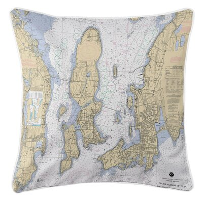Ellisburg Narragansett Bay RI Throw Pillow