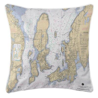 Ellisburg Narragansett Bay, RI Throw Pillow