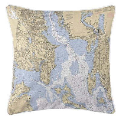 Ellisburg Providence River RI Throw Pillow