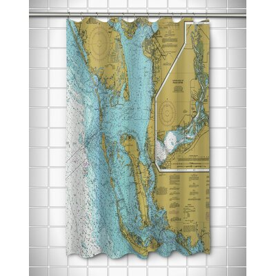 Ellisburg Sanibel Island and Pine Island, FL Polyester Shower Curtain