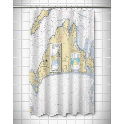 Ellisburg Marthas Vineyard, MA Polyester Shower Curtain