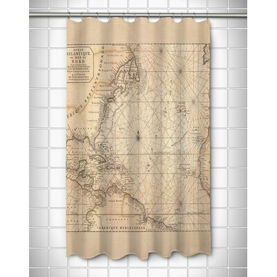 Ellisburg Old World Polyester Shower Curtain