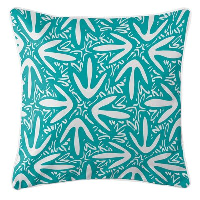 Tribal Lagoon Throw Pillow