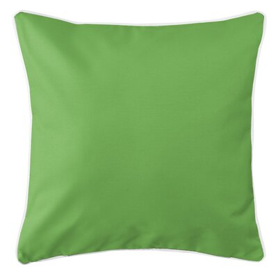 Sunset Key Throw Pillow Color: Green
