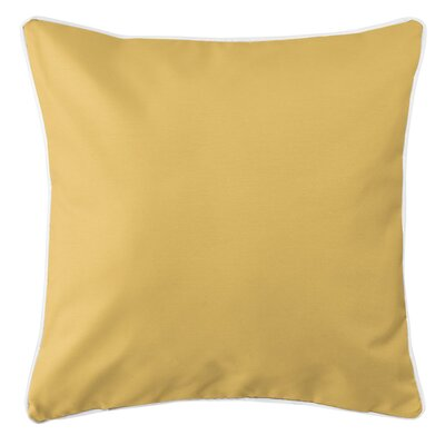 Sunset Key Throw Pillow Color: Yellow