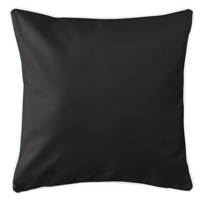 Choya Throw Pillow Color: Black