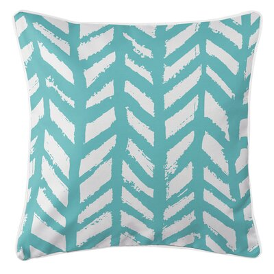 Grand Bahama Throw Pillow Color: Aqua