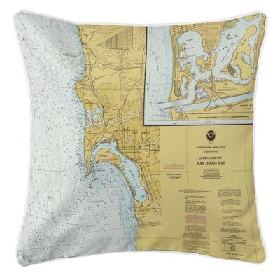 Ellisburg San Diego, CA Throw Pillow
