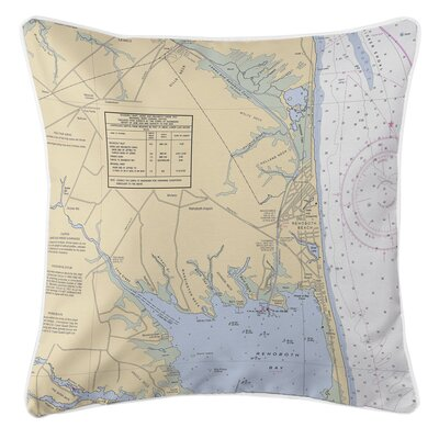 Ellisburg Rehoboth Beach, DE Throw Pillow