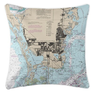 Ellisburg St. Petersburg, FL Throw Pillow