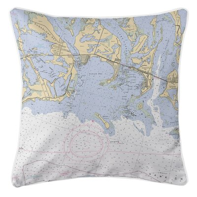 Ellisburg Sugarloaf, Cudjoe and Summerland Keys, FL Throw Pillow