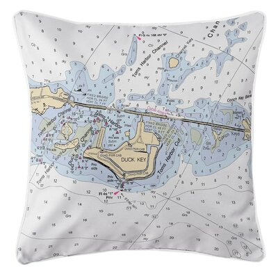 Ellisburg Duck Key, FL Throw Pillow