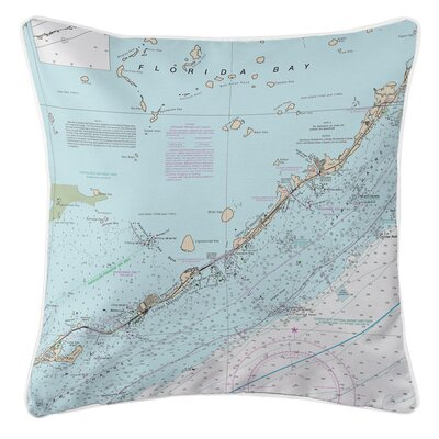 Ellisburg Islamorada, FL Throw Pillow