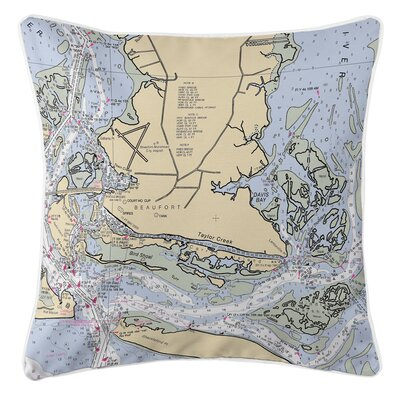 Ellisburg Beaufort, NC Throw Pillow