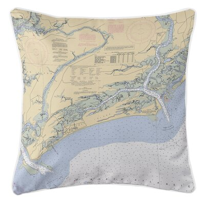 Ellisburg Kiawah Island, SC Throw Pillow