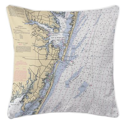Ellisburg Ocean City, MD Throw Pillow