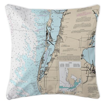 Ellisburg Clearwater, FL Throw Pillow
