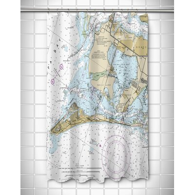 Ellisburg Anna Maria Island, FL Shower Curtain