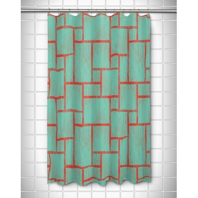 Kroll Tiki Shower Curtain