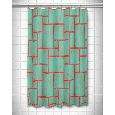 Walker`s Cay Tiki Shower Curtain