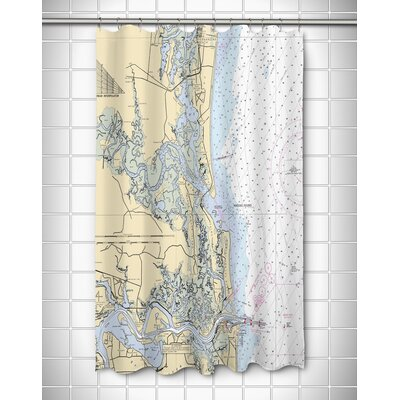 Ellisburg Amelia Island, FL Shower Curtain