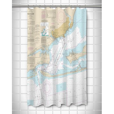 Ellisburg Pensacola Bay, FL Shower Curtain