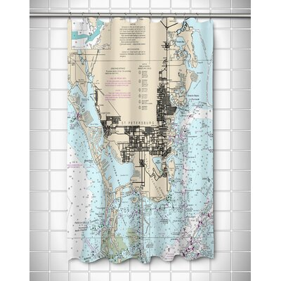 Ellisburg St. Petersburg, FL Shower Curtain