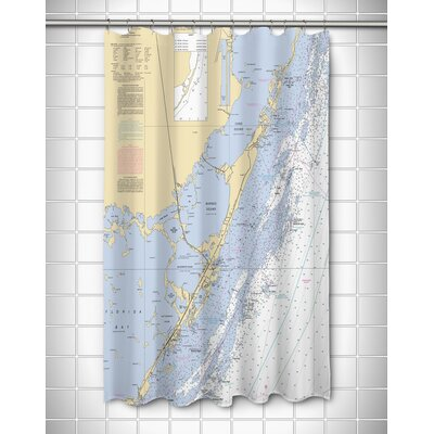 Ellisburg Key Largo, FL Shower Curtain