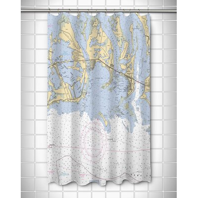 Ellisburg Sugarloaf, Cudjoe & Summerland Keys, FL Shower Curtain