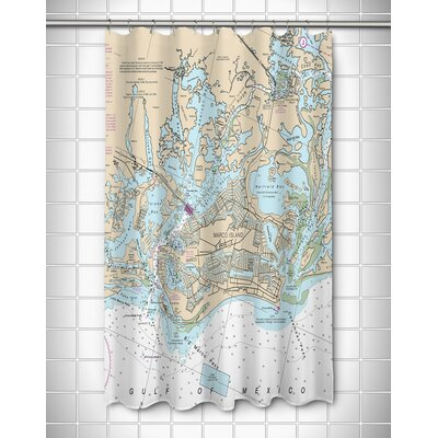Ellisburg Marco Island, FL Shower Curtain