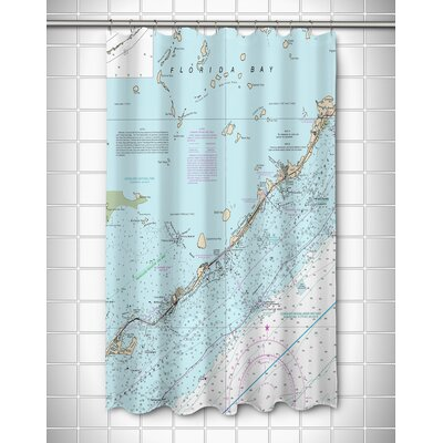 Ellisburg Islamorada, FL Shower Curtain