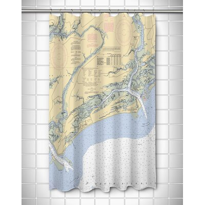 Ellisburg Kiawah Island, SC Shower Curtain