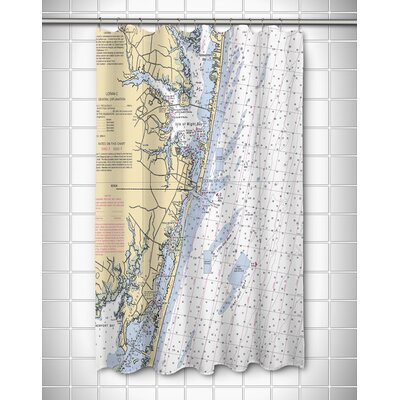 Ellisburg Ocean City, MD Shower Curtain