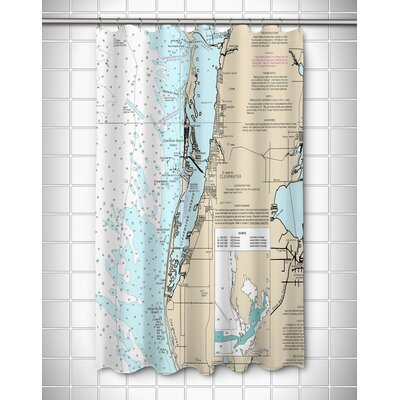 Ellisburg Clearwater, FL Shower Curtain