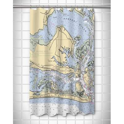 Ellisburg Morehead City, NC Shower Curtain