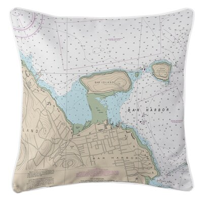 Ellisburg Bar Harbor, ME Throw Pillow
